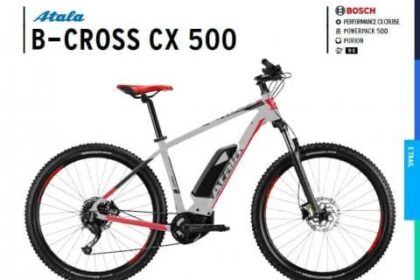 ebike atala b-cross cx 500 2020 nuova